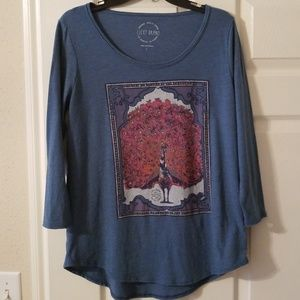 Lucky Brand Tops - Lucky Brand womans size L long sleeve blouse